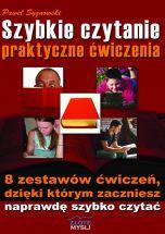 książka Szybkie czytanie - praktyczne ćwiczenia (Wersja drukowana)