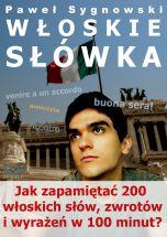 książka Włoskie słówka (Wersja elektroniczna (PDF))