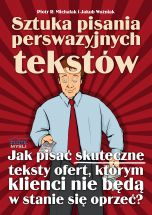 książka Sztuka pisania perswazyjnych tekstów (Wersja elektroniczna (PDF))