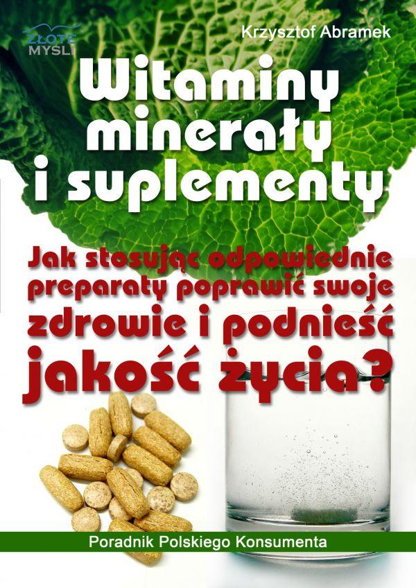 Witaminy, minerały i suplementy (Wersja drukowana)