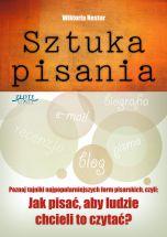książka Sztuka pisania (Wersja elektroniczna (PDF))