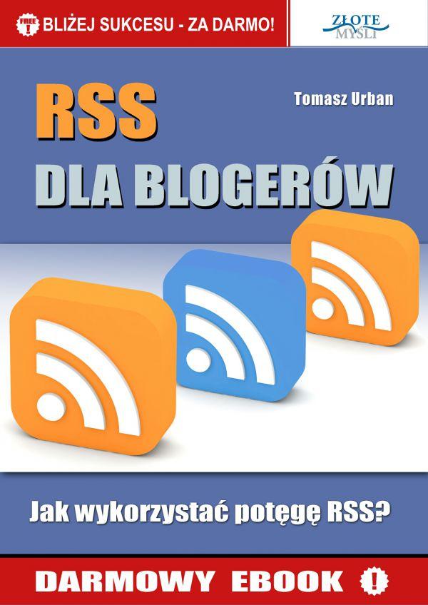 RSS dla blogerów (Wersja elektroniczna (PDF))