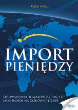 książka Import pieniędzy (Wersja elektroniczna (PDF))