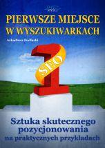 okładka książki Pierwsze miejsce w wyszukiwarkach