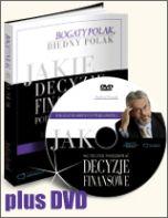 książka [Edycja DVD] Jakie decyzje finansowe podejmują bogaci i dlaczego biedni robią błędy, działając inaczej (Wersja drukowana)