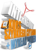 okładka książki Internetowy Kurs Szybkiego Czytania