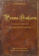 okładka książki Tom III i Tom IV [Twarda oprawa] Prawa sukcesu.