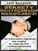książka Sekrety skutecznych negocjacji (Wersja elektroniczna (PDF))
