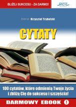 książka Cytaty ludzi Sukcesu (Wersja elektroniczna (PDF))