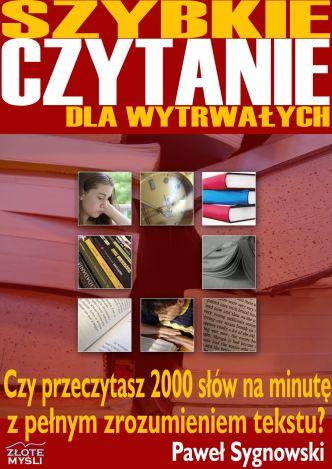 Okładka Szybkie czytanie dla wytrwałych