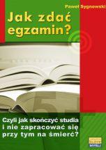 okładka - książka, ebook Jak zdać egzamin?