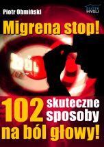 okładka - książka, ebook Migrena stop!
