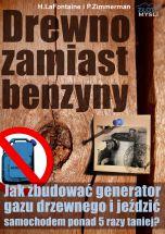 okładka - książka, ebook Drewno zamiast benzyny