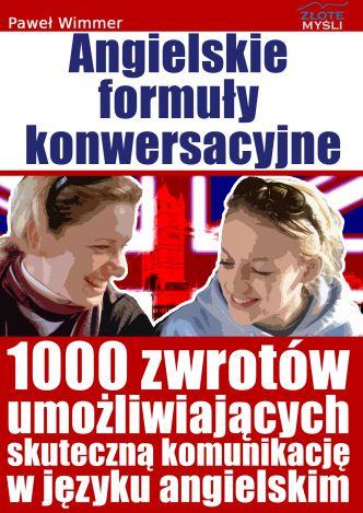 Okładka Angielskie formuły konwersacyjne