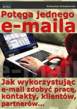 okładka - książka, ebook Potęga jednego e-maila