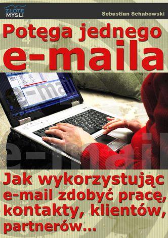 Okładka Potęga jednego e-maila