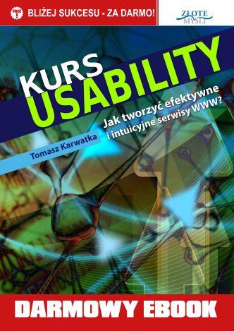 Okładka Kurs usability