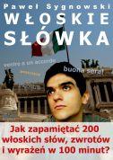 okładka - książka, ebook Włoskie słówka
