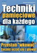 okładka książki Techniki pamięciowe dla każdego