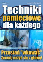 okładka - książka, ebook Techniki pamięciowe dla każdego