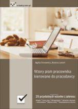 okładka książki Wzory pism pracownika kierowane do pracodawcy