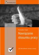 okładka książki Nawiązanie stosunku pracy