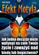 okładka - książka, ebook Efekt Motyla