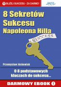 okładka - książka, ebook 8 Sekretów Sukcesu Napoleona Hilla