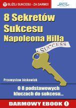 okładka książki 8 Sekretów Sukcesu Napoleona Hilla