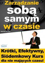 okładka - książka, ebook Zarządzanie sobą samym w czasie