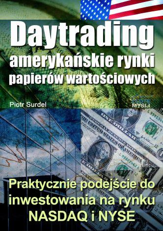Okładka Daytrading - amerykańskie rynki papierów wartościowych