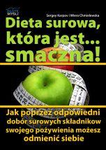 okładka - książka, ebook Dieta surowa, która jest... smaczna!