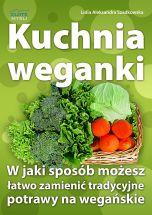 okładka - książka, ebook Kuchnia weganki