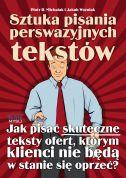 okładka - książka, ebook Sztuka pisania perswazyjnych tekstów