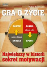 okładka - książka, ebook Gra o życie