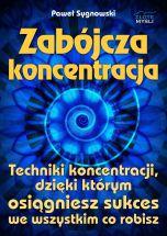 okładka - książka, ebook Zabójcza koncentracja