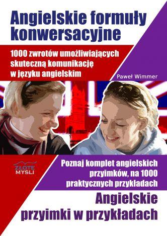 Okładka Angielskie formuły konwersacyjne i Angielskie przyimki