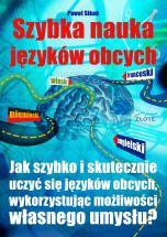 okładka - książka, ebook Szybka nauka języków obcych