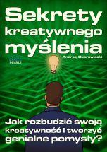 okładka - książka, ebook Sekrety kreatywnego myślenia
