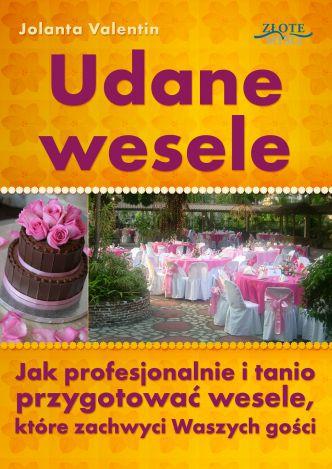 Okładka Udane wesele