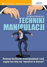 okładka - książka, ebook Techniki manipulacji