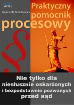 okładka książki Praktyczny pomocnik procesowy