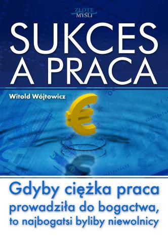 Okładka Sukces a praca