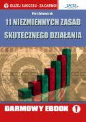okładka - książka, ebook 11 niezmiennych zasad skutecznego działania