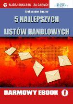 okładka książki 5 najlepszych listów handlowych
