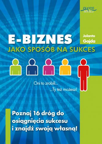 Okładka E-biznes jako sposób na sukces