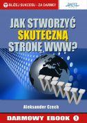 okładka - książka, ebook Jak stworzyć skuteczną stronę www?