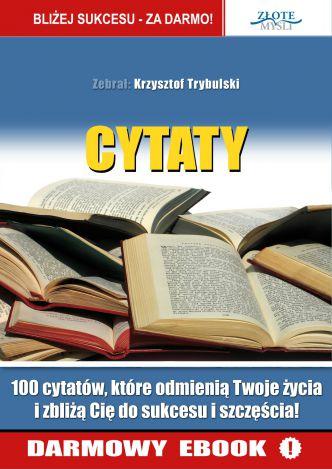 Cytaty Krzysztof Trybulski Ebook