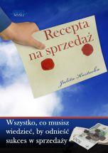 okładka - książka, ebook Recepta na sprzedaż