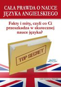 okładka książki Cała prawda o nauce języka angielskiego